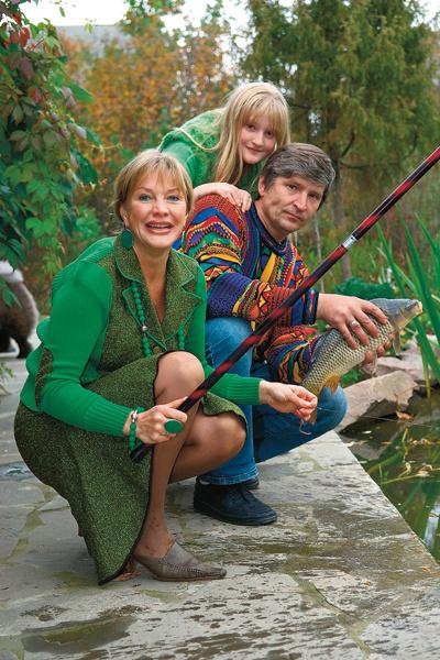 Елену и ее третьего мужа, бизнесмена Андрея Тришина, объединяла рыбалка