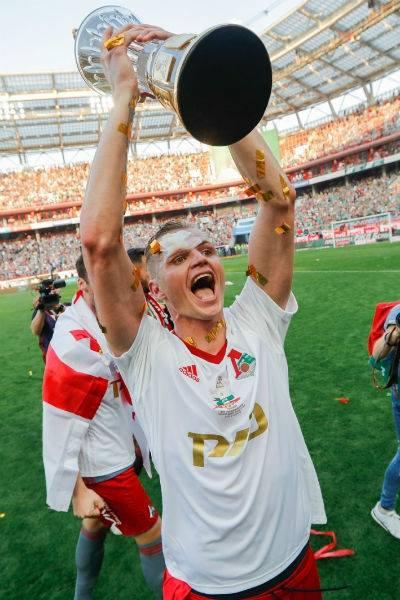 Футболист играет в московском клубе с 2010 года