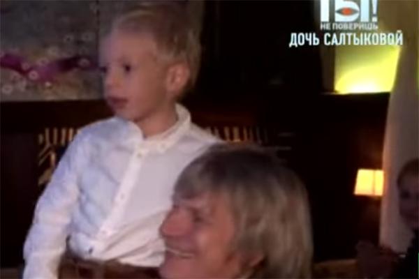 Виктор Салтыков с сыном Святославом