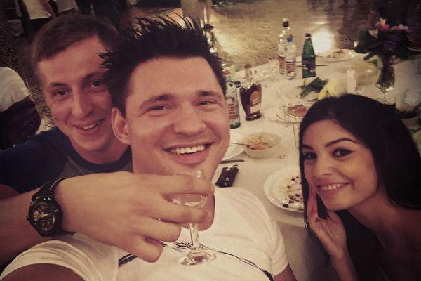 Алексей и Роза остались друзьями с Евгением Рудневым