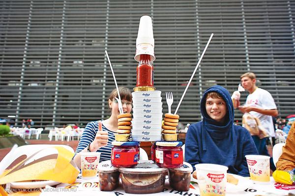 В Екатеринбурге желающих поесть было мало