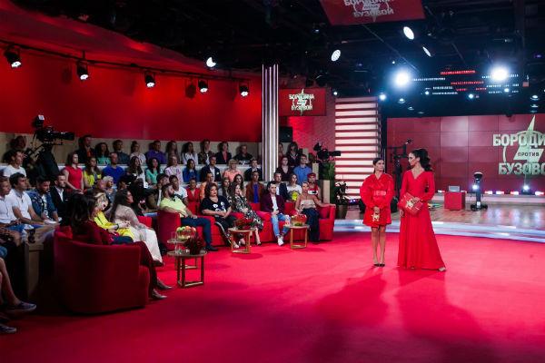 Ольга и Ксения на съемках первого выпуска