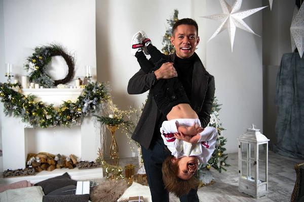 Стас старается проводить с ребенком как можно больше времени