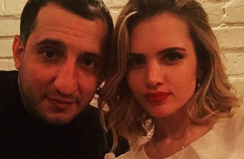 Арарат Кещян и его супруга Екатерина