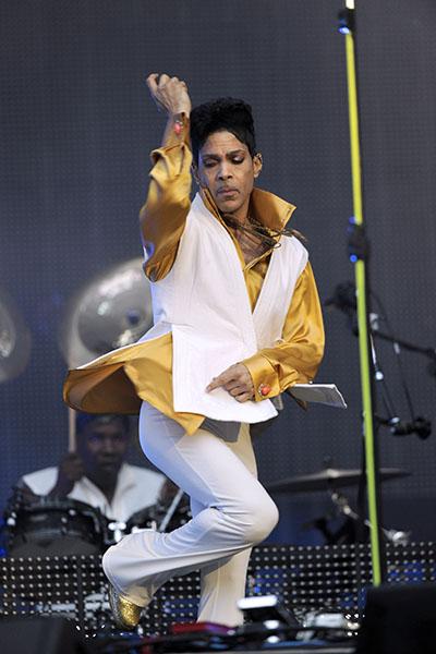 На сцене Принц всегда выкладывается по полной