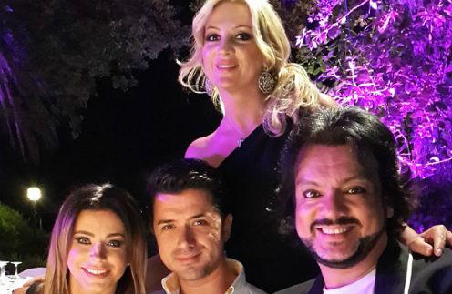 Ани Лорак с мужем Муратом, Филипп Киркоров и Инна Михайлова