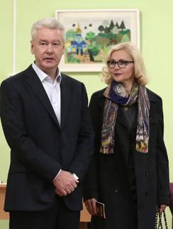 Сергей Собянин с женой Ириной