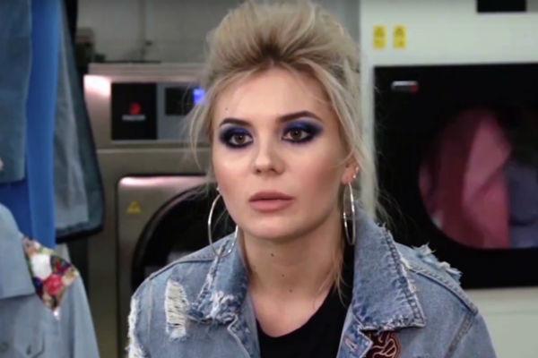 Анна Шульгина снялась в рекламном клипе