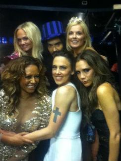 Брэнд и Spice Girls на закрытии Олимпиады-2012