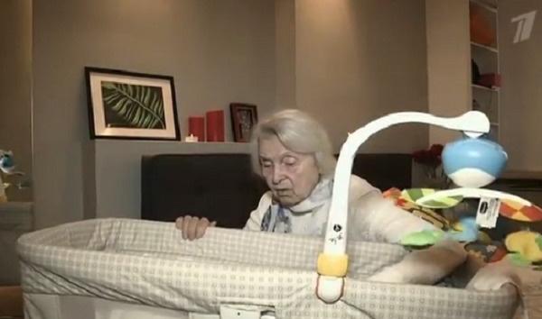 Бабушка Ольги нашла общий язык с правнуком