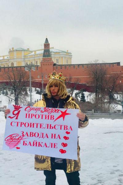 Сергей Зверев давно борется за сохранение природы Байкала