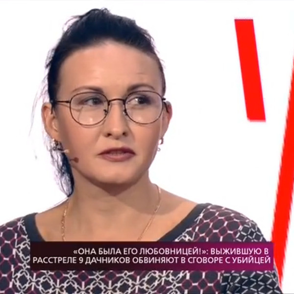 Наталья Чистякова оказалась еще одной выжившей после стрельбы на даче