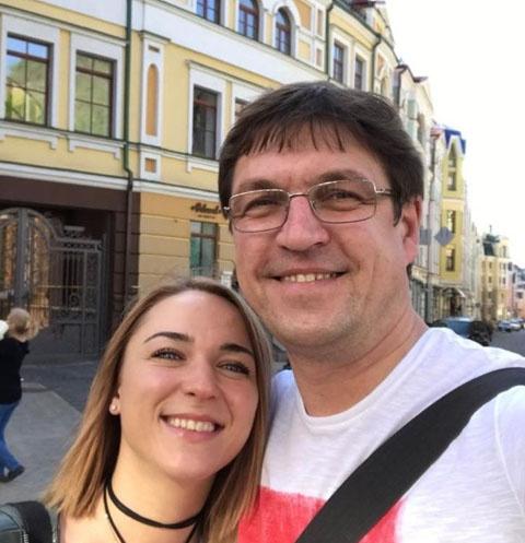 Дмитрий Орлов с женой Натальей