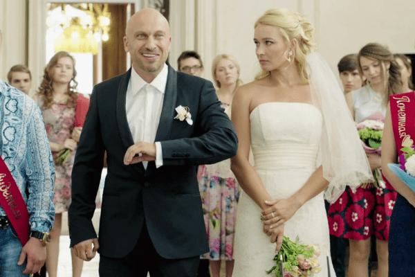Дмитрий Нагиев на съемках сериала «Физрук»