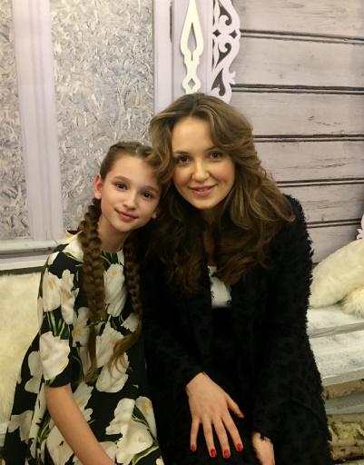 Лиза Анохина и Катя Добрякова