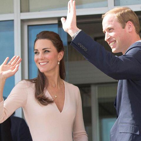 Семейная пара Кейт Миддлтон и принца Уильяма кажется очень счастливой