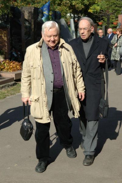 С Олегом Табаковым им всегда было о чем поговорить