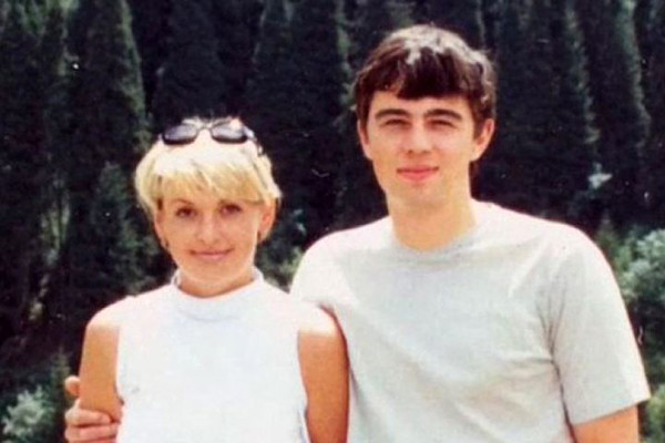 Сергей Бодров с супругой