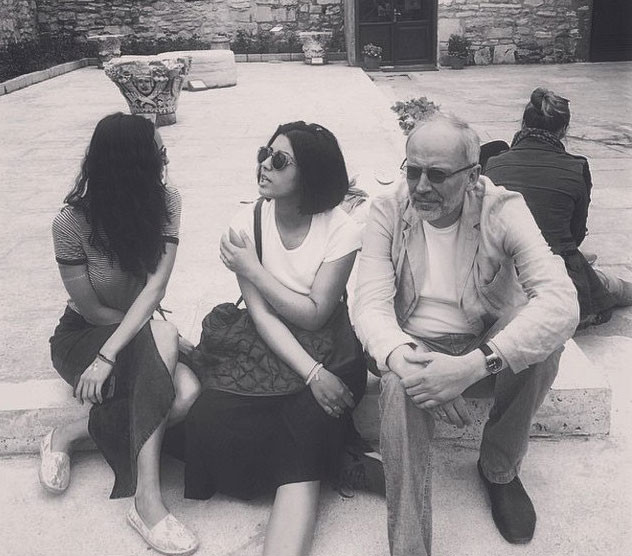 Александр провел жене экскурсию по Стамбулу