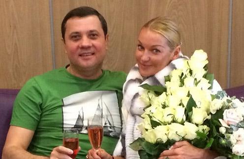 Анастасия Волочкова и Бахтияр