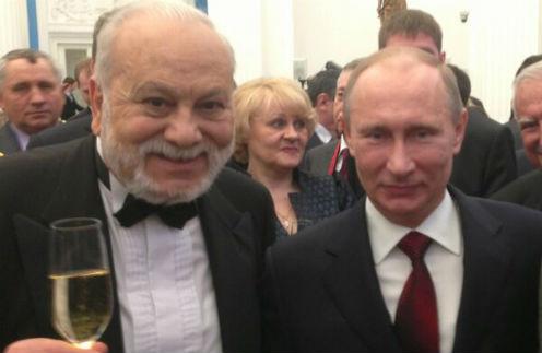 Бедрос Киркоров и Владимир Путин
