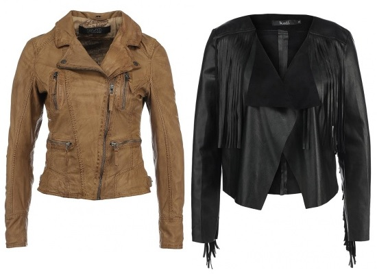 Кожаная куртка Oakwood, MISSGUIDED
