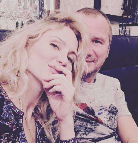 Катя Гордон с избранником