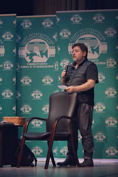 Александр Цекало во время одного из мастер-классов в Санкт-Петербурге
