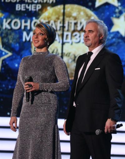 Яна Чурикова и Валерий Меладзе