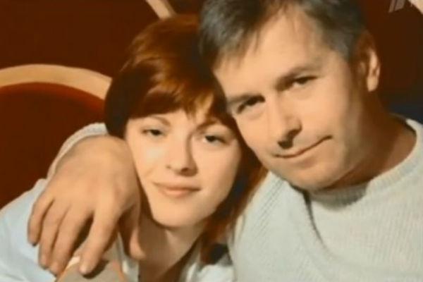 Игорь Ливанов с третьей женой Ольгой