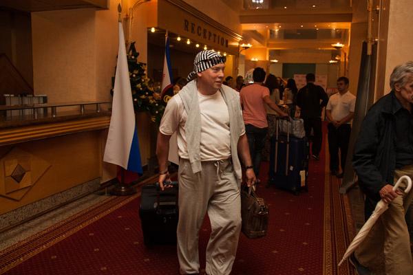 Виктор Сухоруков, исполнивший одну из главных ролей в фильме Weekend