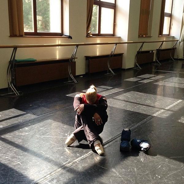 Сегодня репетиция у Волочковой явно не задалась