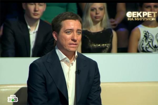 Николай Крутой пришел в студию поддержать отца