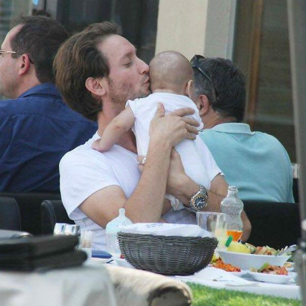 Лиор с сыном