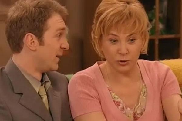 Догилева в фильме «Люба, дети и завод», 2006 год