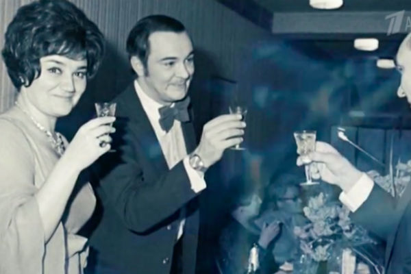 Тамара Синявская и Муслим Магомаев, 1974 год