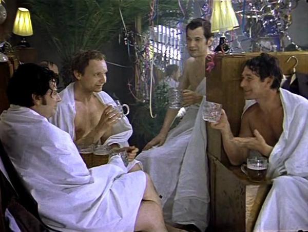 Кадр из фильма «Ирония судьбы или С легким паром!»