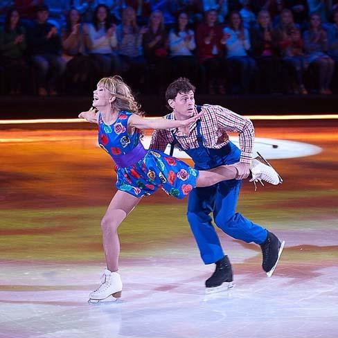 Тот самый танец Аллы и Максима Маринина