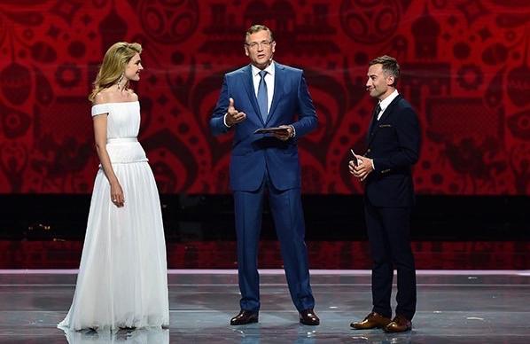Наталья Водянова, Жером Вальке и Дмитрий Шепелев