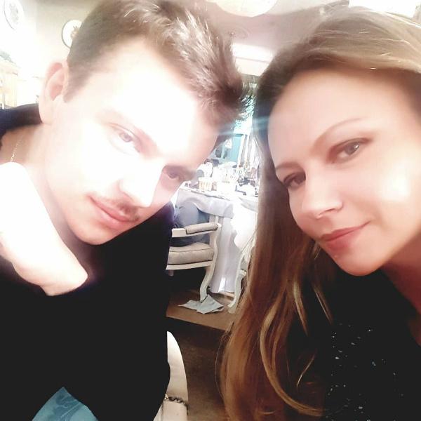 Сын Марии Андрей также решил стать актером