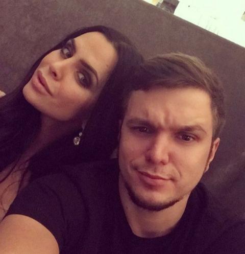 Виктория Романец и Антон Гусев