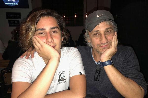 Пабло с сыном