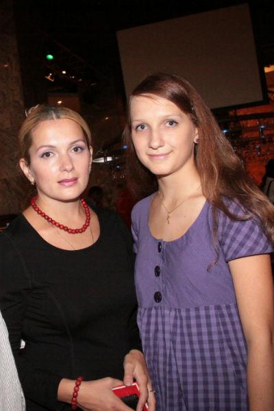 Мария Порошина с дочерью Полиной