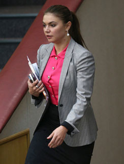 Алина Кабаева в Государственной думе