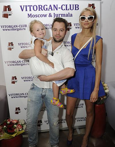 Виталий Гогунский с семьей