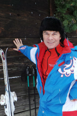 Олег 18 января на отдыхе в подмосковье
