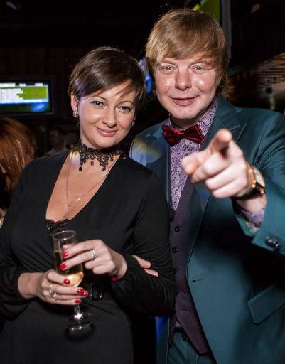 Андрей Григорьев-Аполлонов и Виктория Талышинская