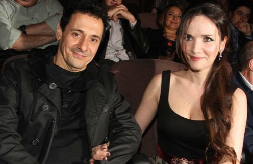 Наталья Орейро с мужем Рикардо