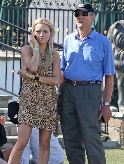 Клинт Иствуд с дочерью Франческой