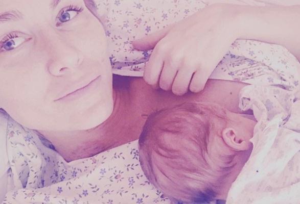 Катя Гордон со вторым сыном